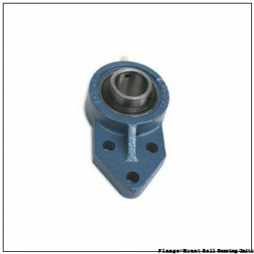 3.4375 in x 6.0950 in x 10.2500 in  Sealmaster RFP-307c Flange-Mount Ball Bearing Units