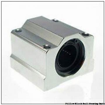 55 mm x 162.1 to 188.98 mm x 2-19/32 in  Dodge P2BSXR55M Pillow Block Ball Bearing Units