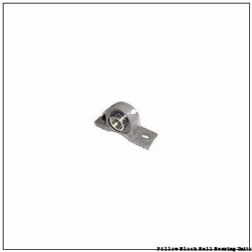 2.6875 in x 7-1/2 to 8-1/2 in x 2.54 in  Dodge P2BSC211 Pillow Block Ball Bearing Units