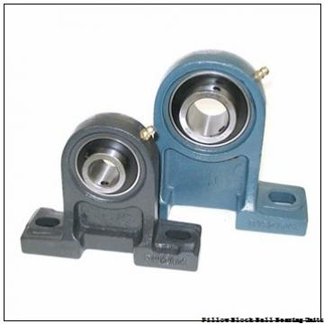 2.0000 in x 6.38 to 7.44 in x 2.22 in  Dodge P2BSCM200HT Pillow Block Ball Bearing Units