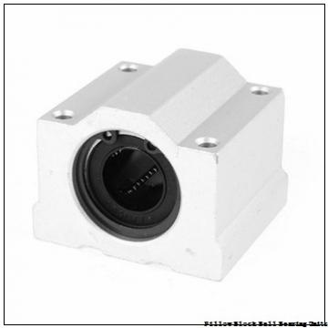 1.4375 in x 4.68 to 5.44 in x 1.71 in  Dodge P2BVSC107 Pillow Block Ball Bearing Units
