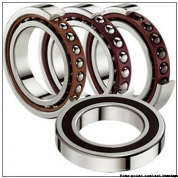 60 mm x 110 mm x 22 mm  FAG QJ212-TVP Four-Point Contact Bearings