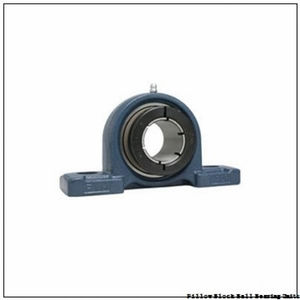 1.9375 in x 6 to 6.68 in x 2-15/32 in  Dodge P2BSXR115 Pillow Block Ball Bearing Units #3 image