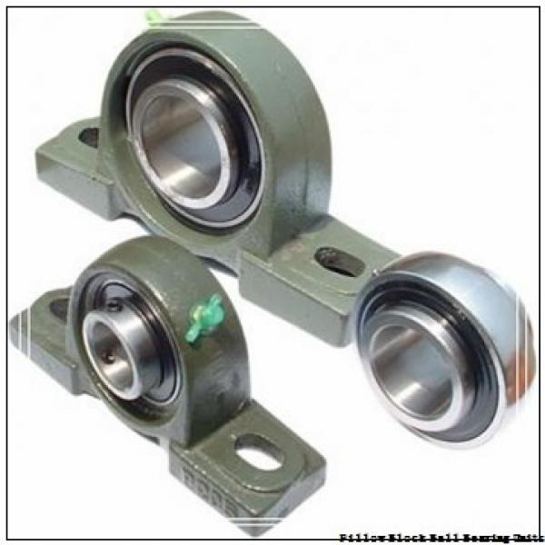 1.6250 in x 5-1/2 to 6.19 in x 1.94 in  Dodge P2BSC110L Pillow Block Ball Bearing Units #1 image