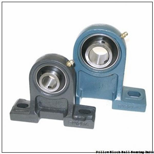 1.4375 in x 7-3/4 to 8-1/4 in x 10.35 in  Dodge F&BCC107-DL Pillow Block Ball Bearing Units #1 image
