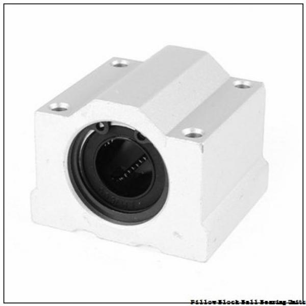 1.9375 in x 6 to 6.68 in x 2-15/32 in  Dodge P2BSXR115 Pillow Block Ball Bearing Units #1 image